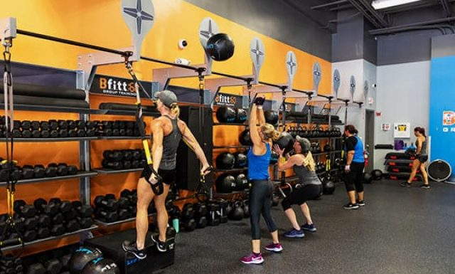 Strength Class at Gym in Billerica