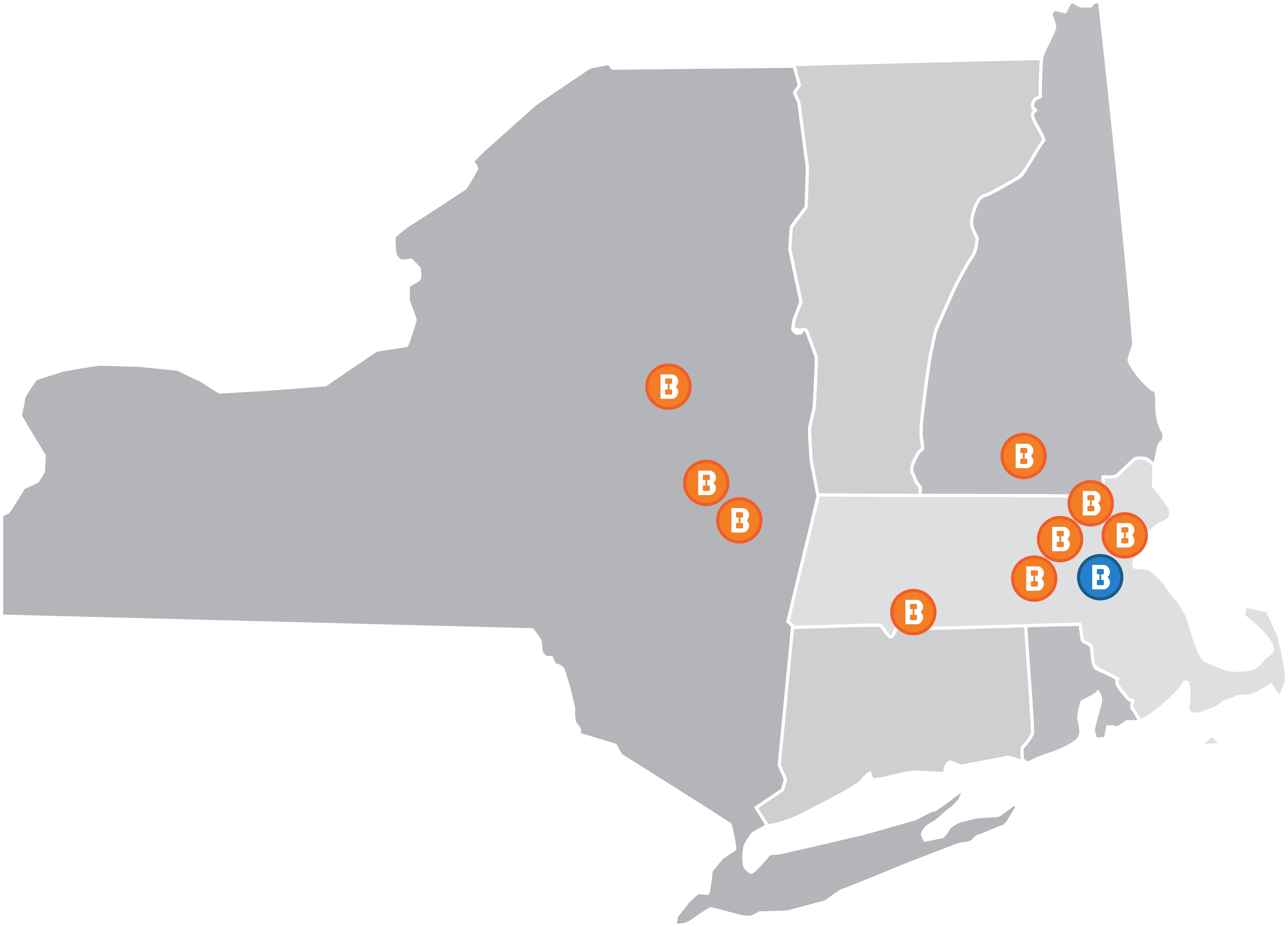 All locations